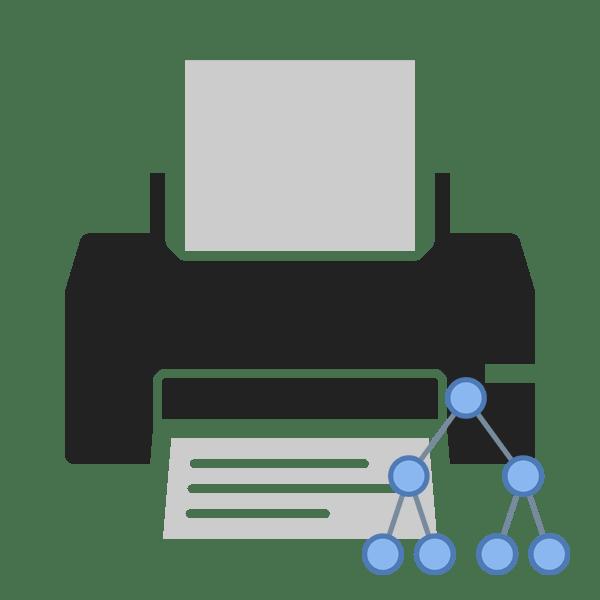 Как подключить принтер по сети