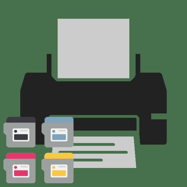 Как заменить картридж принтера