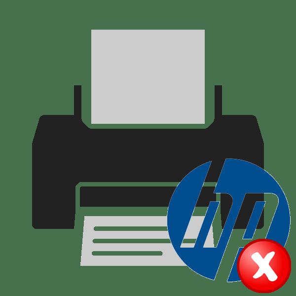 Ошибка печати на принтере HP