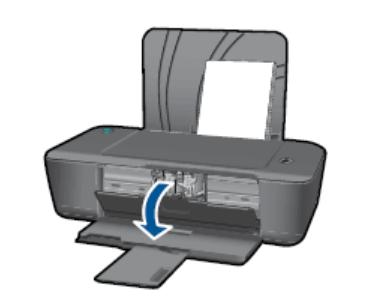 Открыть боковую крышку принтера HP