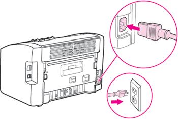 Подключить принтер HP к сети