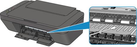 Прочистить внутренние компоненты от чернил Canon