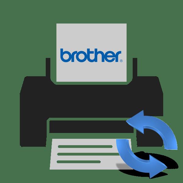 Сброс счетчика тонера принтера brother
