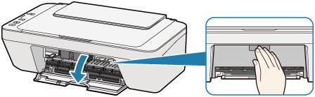 Снятие задней крышки принтера