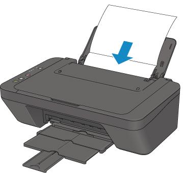 Вставить бумагу в принтер Canon
