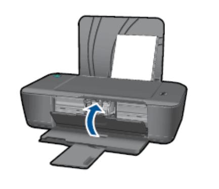 Закрыть боковую крышку принтера HP