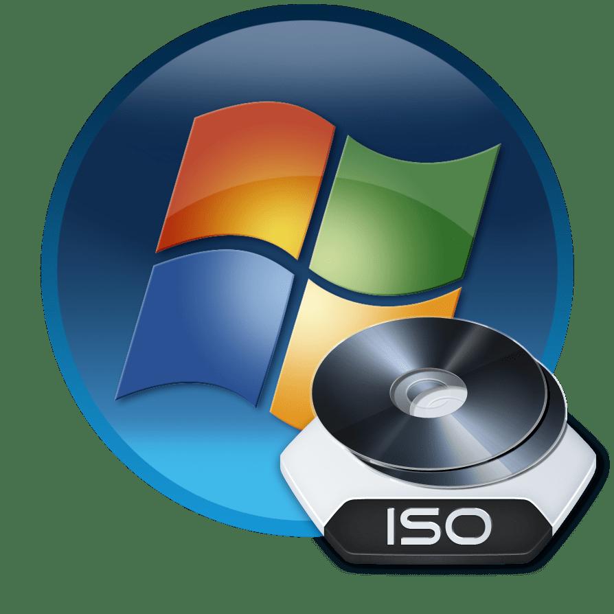 Образ оптического диска ISO в Windows 7