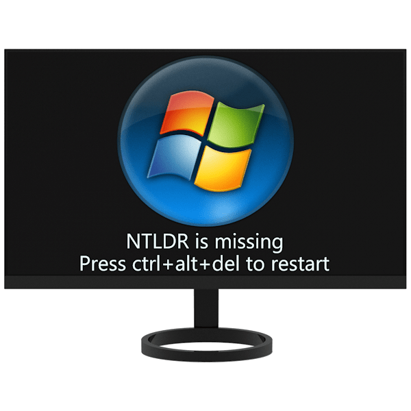 Ошибка «NTLDR is missing» в Windows 7