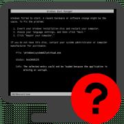 Ошибка 0xc0000225 при загрузке windows 7