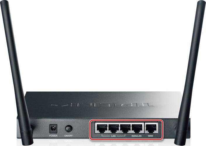 Пример WAN-интерфейса на Wi-Fi роутере TP-Link