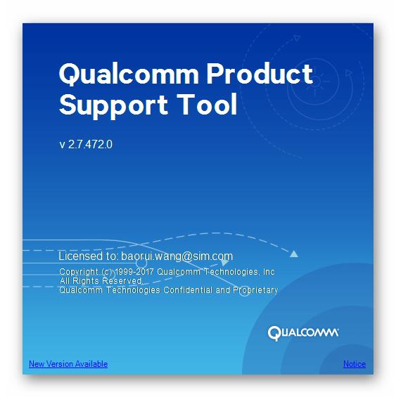 Скачать Qualcomm Product Support Tools (QPST) 2.7.472.0 для работы со смартфоном Lenovo A6010