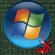 Удаление Java в Windows 7