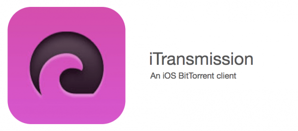 iTransmission - iOS-приложение - торрент-клиент для iPhone или iPad