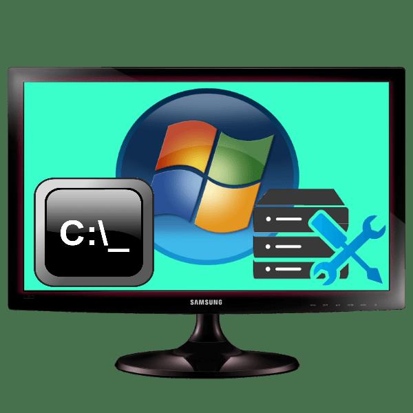 восстановление системы windows 7 через командную строку