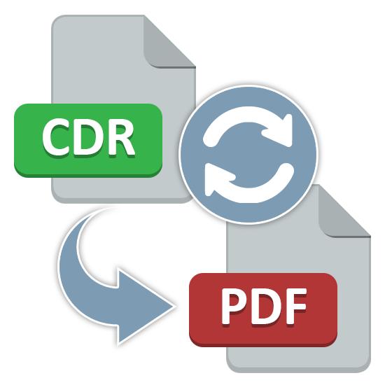 Как конвертировать CDR в PDF