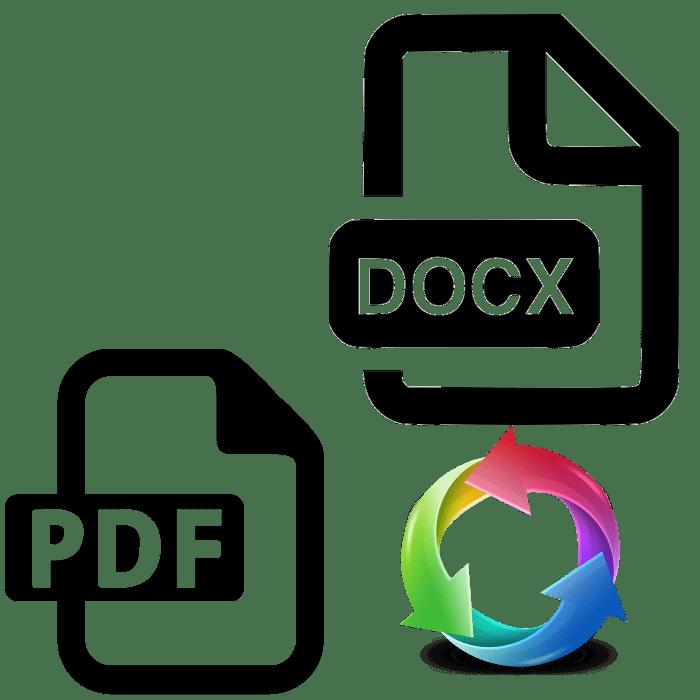 convert pdf to docx linux