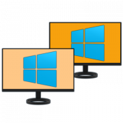 Как сделать два экрана в Windows 10