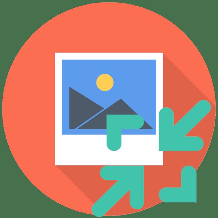 Как уменьшить разрешение фото онлайн