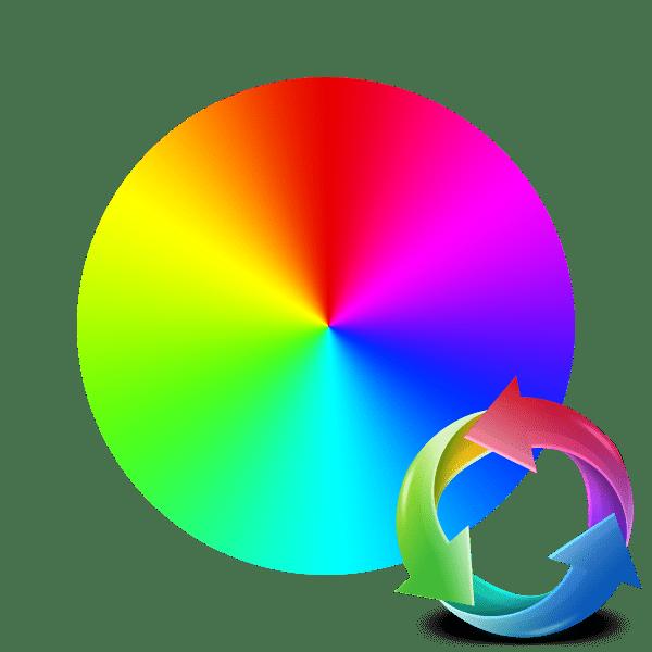 Как заменить цвет на фото онлайн