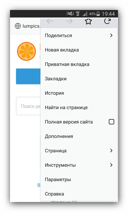 Mozilla Firefox с поддержкой Flash