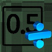 Онлайн-калькулятор для деления в столбик десятичных дробей