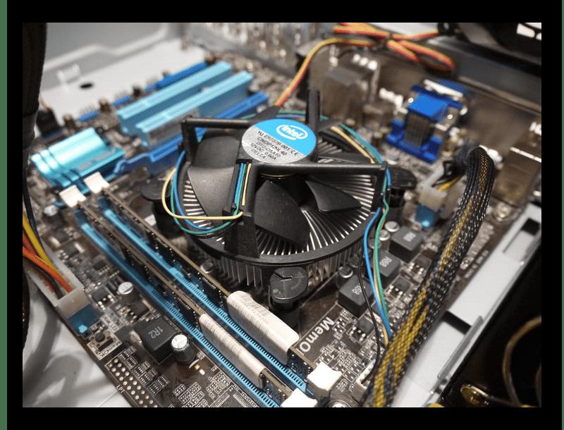 Подключение вентилятора к материнской плате компьютера