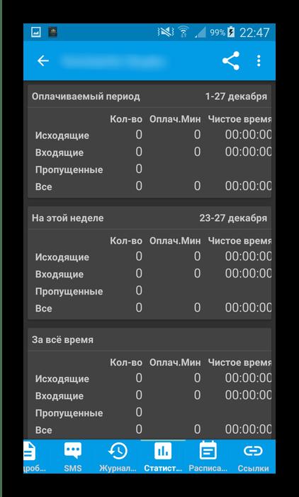 Приложение контактов для Android DW Contacts