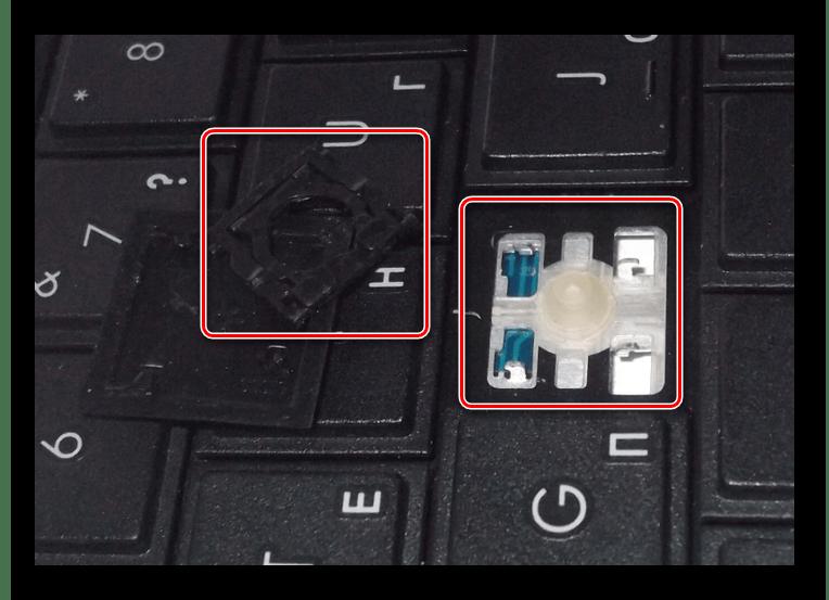 Процесс замены клавиш на клавиатуре ноутбука