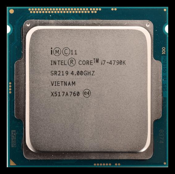 Процессор Core i7-4790K на архитектуре Haswell