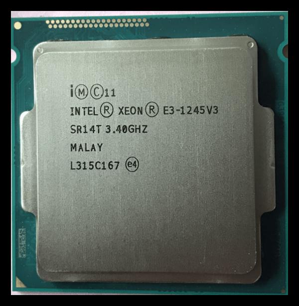 Процессор Xeon E3-1245 v3 на арихитектуре Haswell