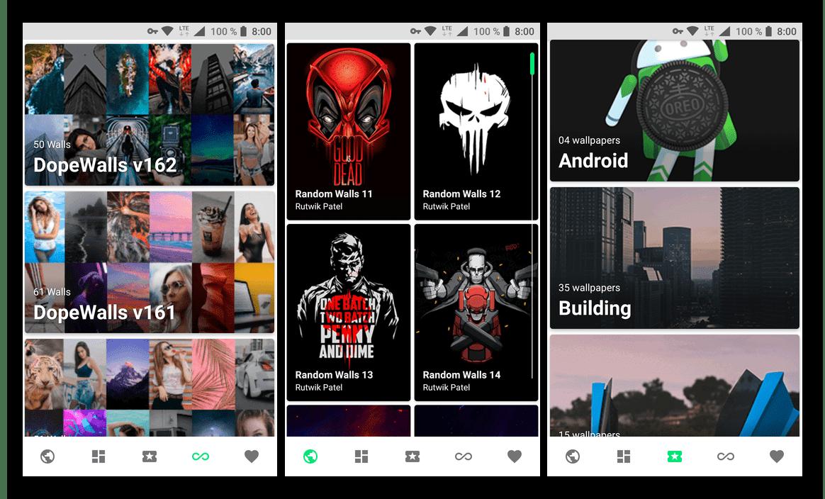 Скачать из Google Play Маркета Urban Walls - приложение для смартфона и планшета с Android