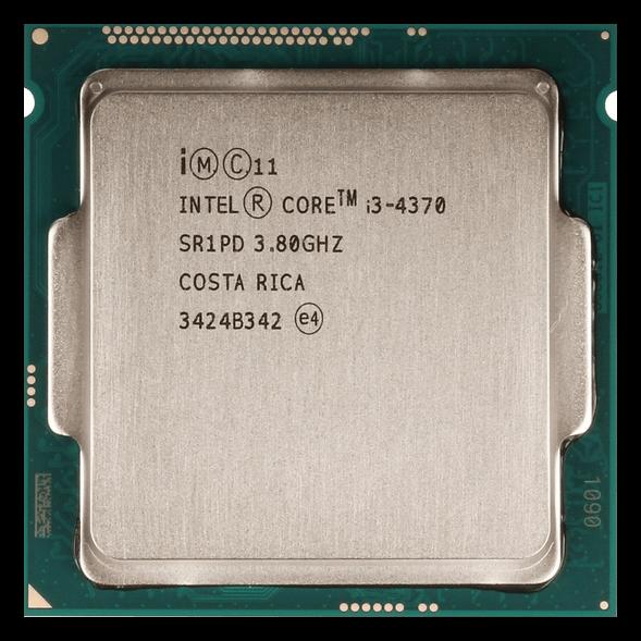 Центральный процессор Core i3-4370 на архитектуре Haswell