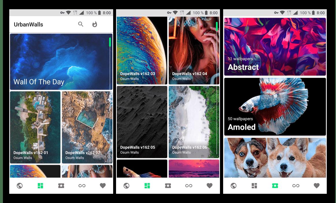Urban Walls - приложение для смартфона и планшета с Android