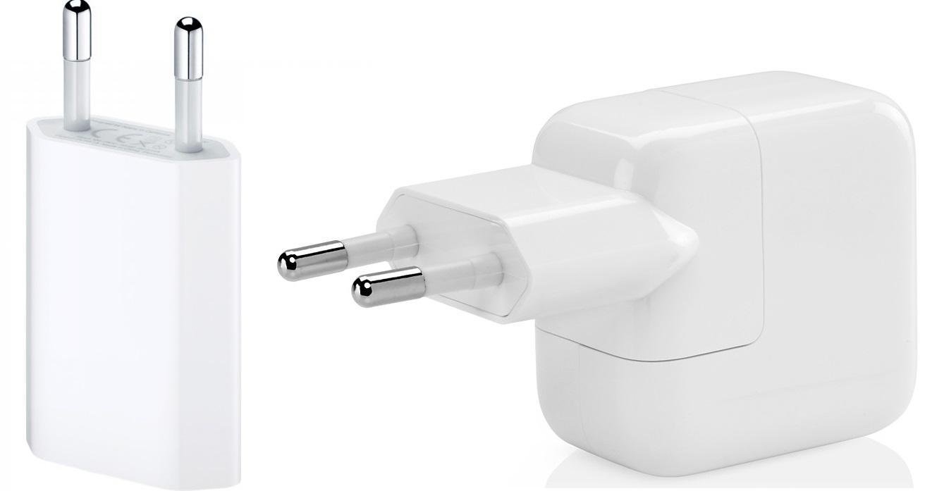 Адаптеры питания iPhone и iPad
