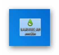Файл содержащий набор скинов для программы Rainmeter