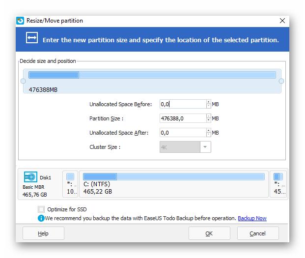 Использование сторонней утилиты для разметки жесткого диска в Windows 10