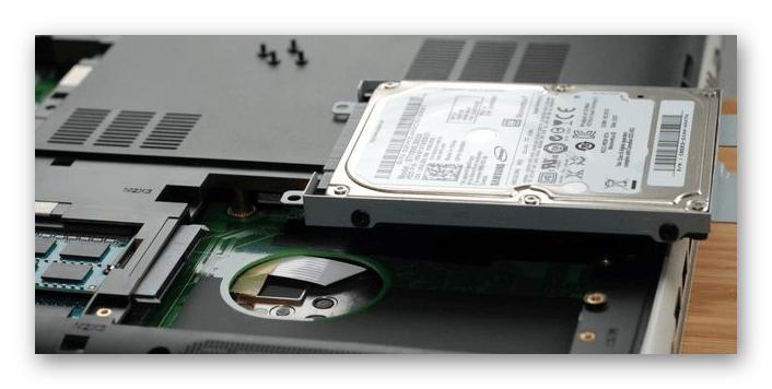 Извлечение жесткого диска из ноутбука для последующей замены