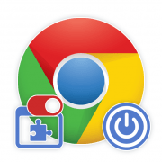 Как выключить  расширения в Гугл Хром