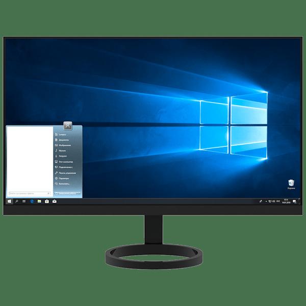 Как сделать меню пуск от Windows 7 в Windows 10