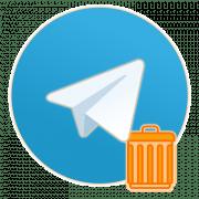 Как удалить Телеграм