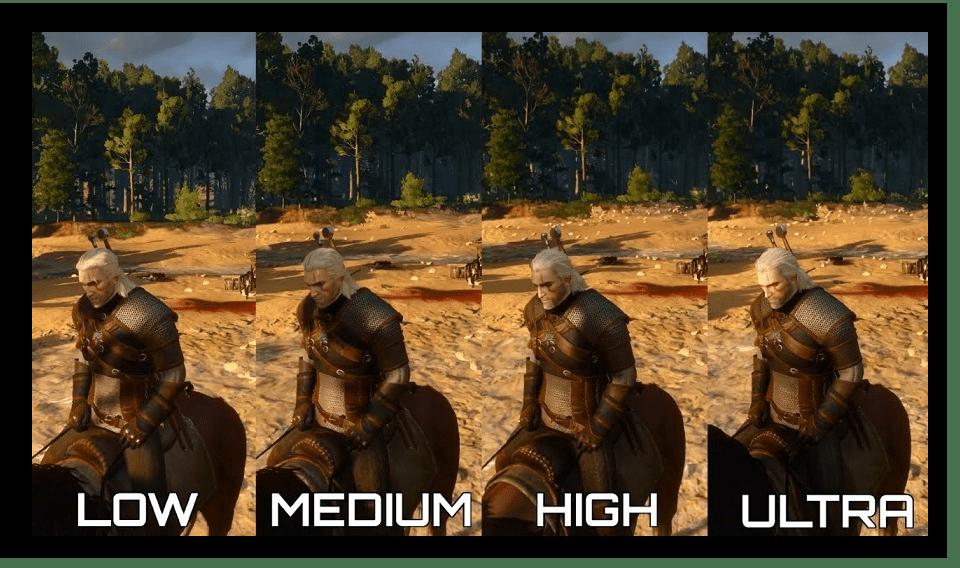 Параметры графики в играх