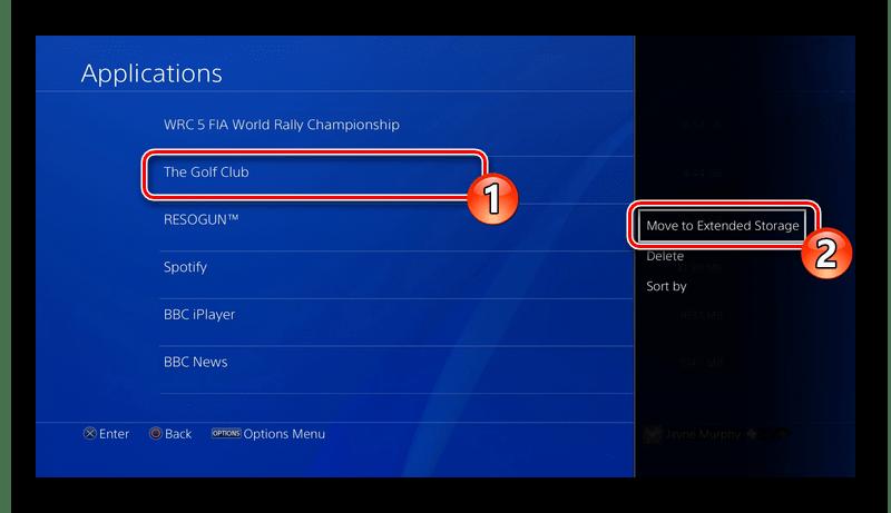 Перенос приложений игровой приставки PS4