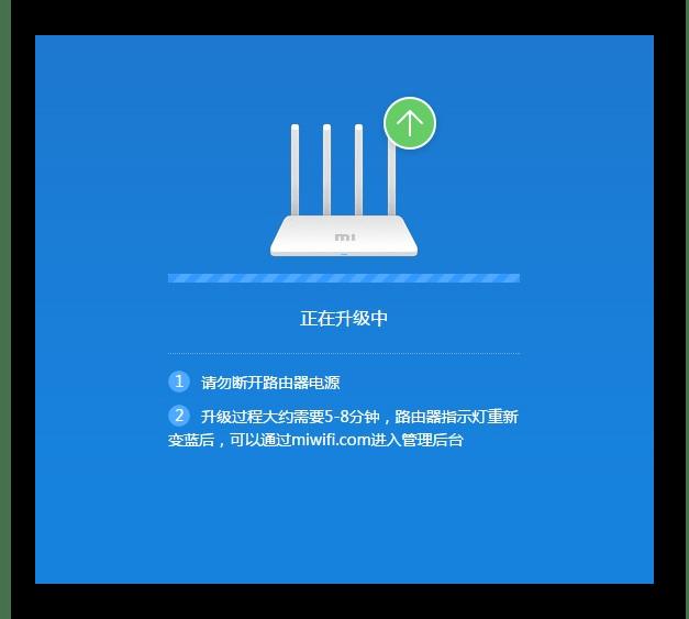 Перезапуск роутера Xiaomi Mi 3G после перепрошивки
