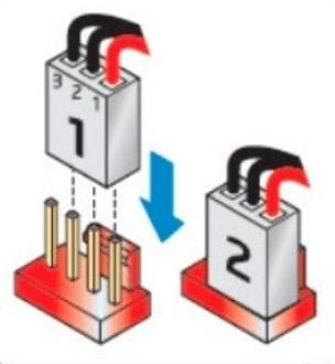 Подключение 3-Pin кулера к материнской плате c 4-Pin