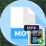 Преобразование MOV в MP4 через онлайн-сервис