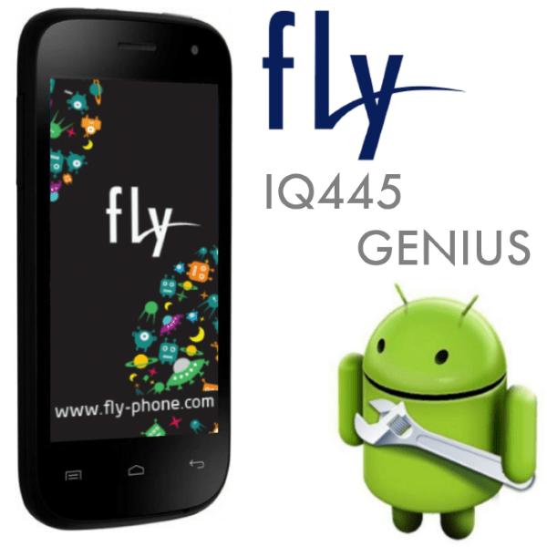Прошивка Fly IQ445