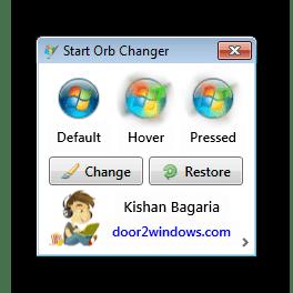 Смена внешнего вида кнопки Пуск с помощью стороннего софта в Windows 7