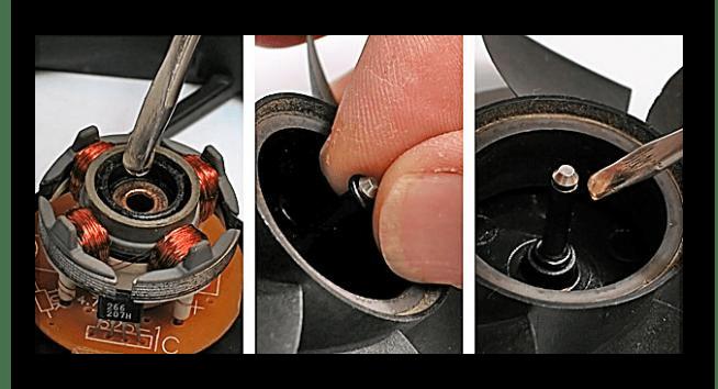 Снять резиновую прокладку с компьютерного кулера