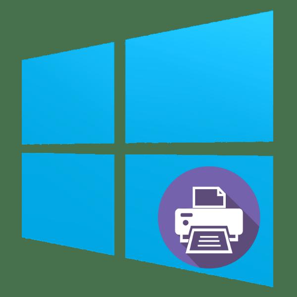 как установить принтер на windows 10
