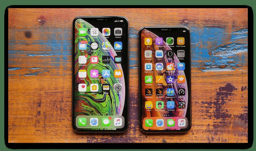 Дисплеи iPhone XS и iPhone XS Max